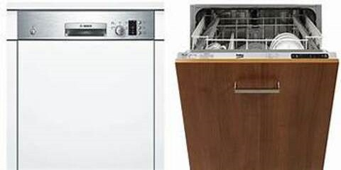 Fully or Semi Integrated Built in Dishwasher